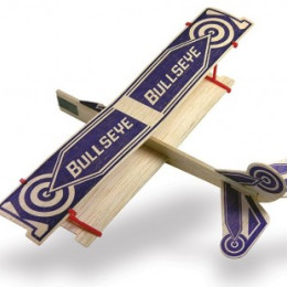 Guillow's Avion Bullseye Biplan en balsa - Envergure 300mm