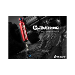 Gmade amortisseurs G-Transition rouge 90mm - GM20601