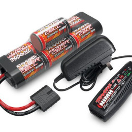 Traxxas pack chargeur batterie NI-MH 8.4V 3000 MAH - TRX2984